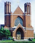 Saint Francis of Assisi Church Downtown Bend, Oregon