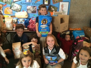 Annual Humane Society Food Drive 2015